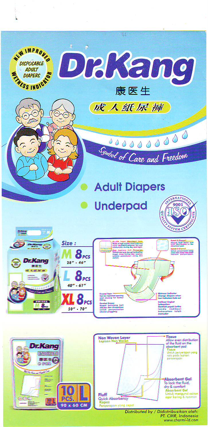 Dr Kang Toko Susu Murah Yofemm Drkang Adult Diapers Pants Xl8 Size 16 375cm Rp 11000
